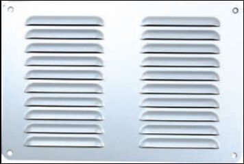 3059-Aluminium-Pressed-Vent-Silver-Anodised-265mm-x-265mm-V3003