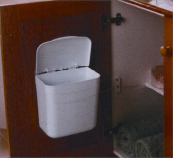 809-5-Litre-White-Door-Mounted-Vanity-Bin-KVB01