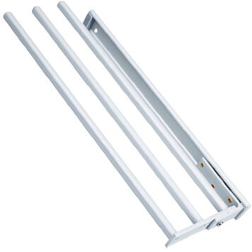 Tea Towel 3 Arm Aluminium Pull Out Rail Dst Ctta 3 Alu