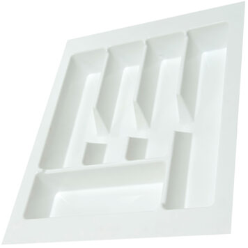 Kimberley White Plastic Cutlery Drawer Insert 455mmx488mm Dst Ct02